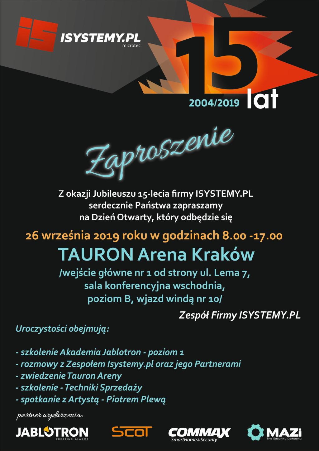 Isystemy.pl ma już 15 lat!