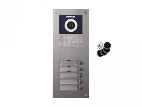 DRC-5UC/RFID Kamera 5-abonentowa z regulacją optyki  i czytnikiem RFID