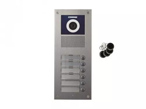 DRC-6UC/RFID Kamera 6-abonentowa z regulacją optyki  i czytnikiem RFID