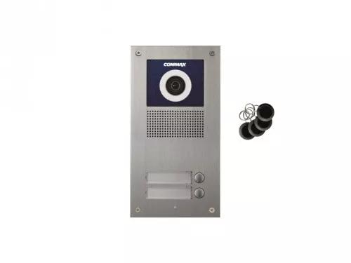 DRC-2UC/RFID Kamera 2-abonentowa z regulacją optyki  i czytnikiem RFID