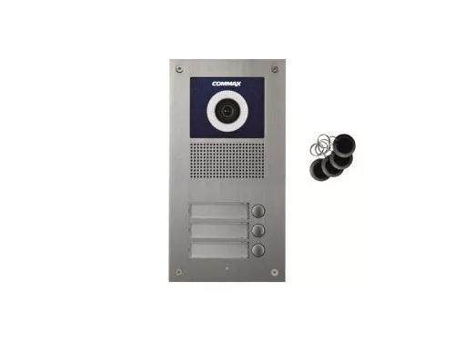 DRC-3UC/RFID Kamera 3-abonentowa z regulacją optyki  i czytnikiem RFID