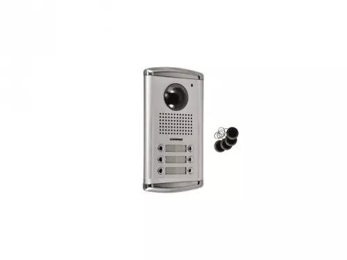 DRC-6AC2/RFID Kamera 6-abonentowa z regulacją optyki  i czytnikiem RFID