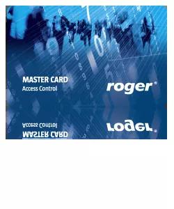 EMC-7 Karta zbliżeniowa cienka PVC EM 125 kHz z nadrukiem offsetowym ROGER Master.