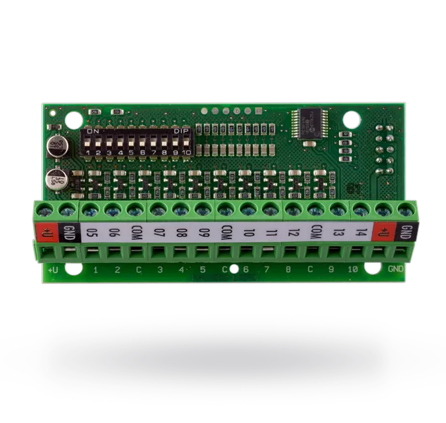 JA-82C module for 10 wired inputs
