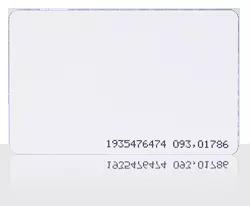 Karta zbliżeniowa cienka PVC 13.56 MHz MIFARE Classic 1K.