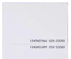 MFC-3 Karta zbliżeniowa cienka PVC 13.56 MHz MIFARE Classic 4K.