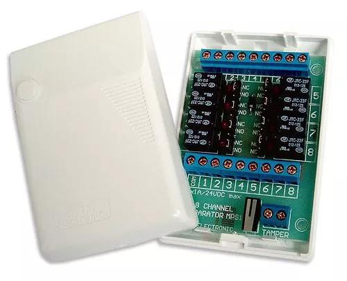 MPS1 Separator przekaźnikowy ośmiokanałowy