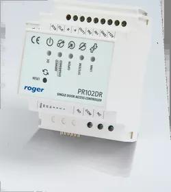 PR102DR Kontroler dostępu w obudowie na szynę DIN