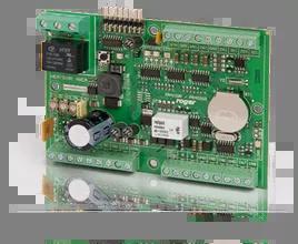 Wewnętrzny kontroler dostępu w obudowie na szynę DIN, zasilanie 12VDC, bez obudowy.