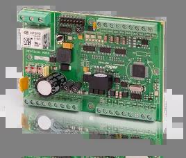 PR411DR-BRD Wewnętrzny kontroler dostępu, z zasilaczem buforowym, bez obudowy