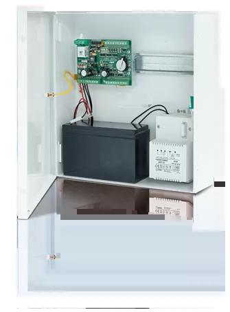 Zestaw kontroli dostępu:z  kontrolerem PR411DR i  transformatorem, w obudowie ME-4.