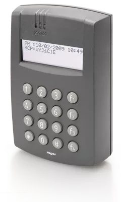PR602LCD-DT-I Wewnętrzny kontroler dostępu z czytnikami EM 125 kHz oraz 13.56 MHz MIFARE i klawiaturą