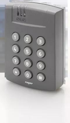 PR612-G Zewnętrzny kontroler dostępu zintegrowany z czytnikiem EM 125 kHz i klawiaturą