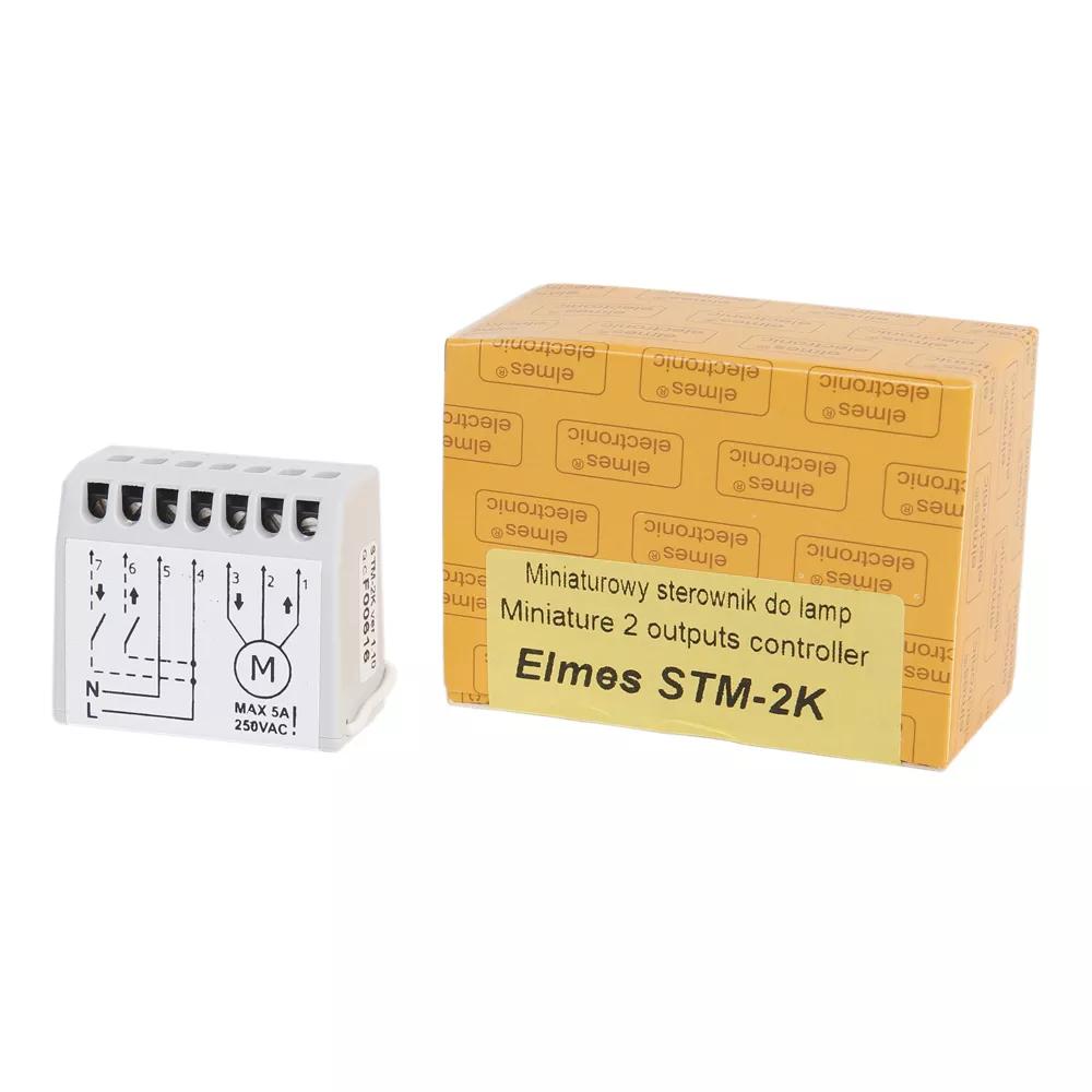 STM2K Uniwersalny dwukanałowy  sterownik radiowy 230V