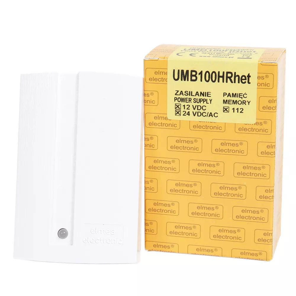 UMB100HRHET Odbiornik 1-kanałowy, zasilanie 12-24VAC/DC
