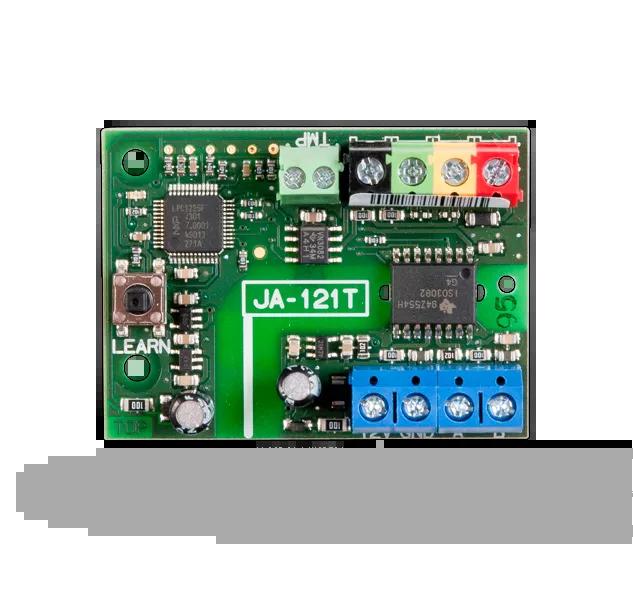 JA-121T Konwerter magistrali na RS-485, komunikaty ASCII