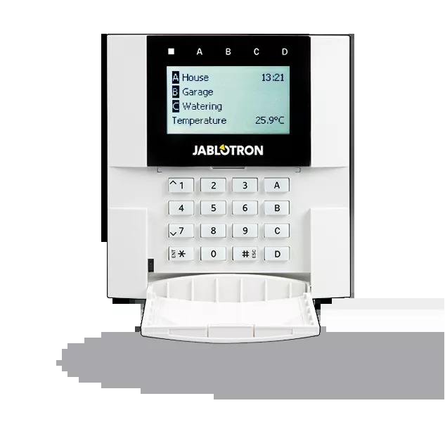 JA-150E Bezprzewodowa klawiatura LCD z czytnikiem zbliżeniowym RFID do central JA-100