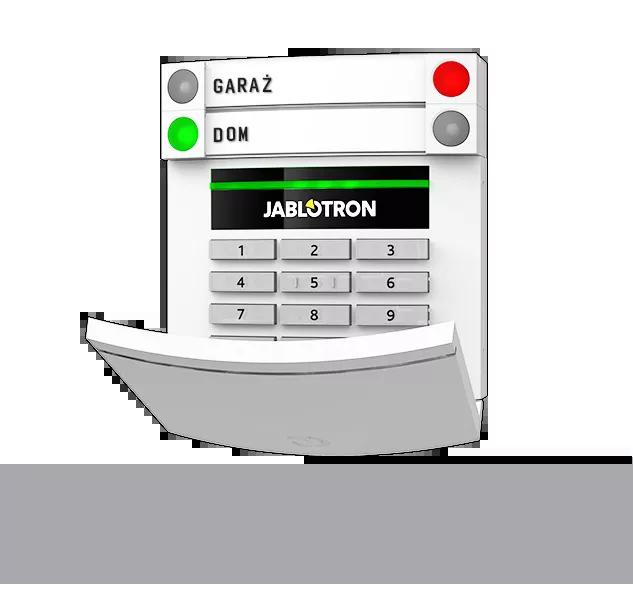 JA-153E Bezprzewodowa klawiatura LED z RFID