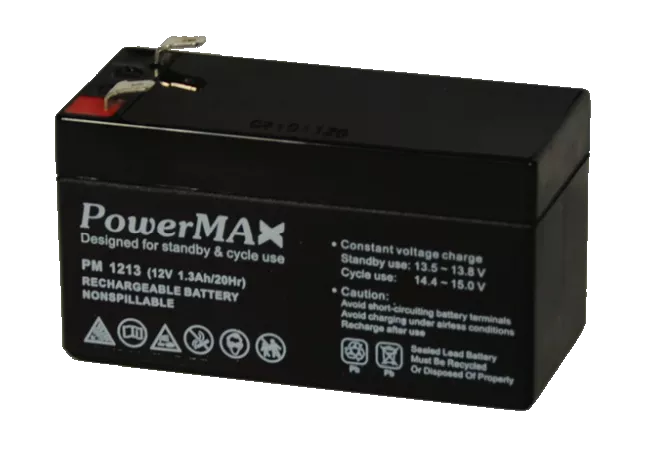 PM1213 Akumulator 12V 1,3Ah POWERMAX