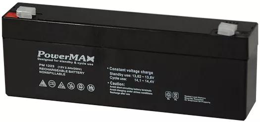 PM1223 Akumulator 12V 2,3Ah POWERMAX