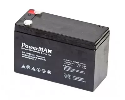 PM1270 Akumulator 12V 7Ah POWERMAX