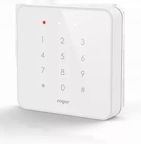 PRT82MF-W Wewnętrzny czytnik zbliżeniowy  ISO 14443A i MIFARE, biały, z klawiaturą dotykową