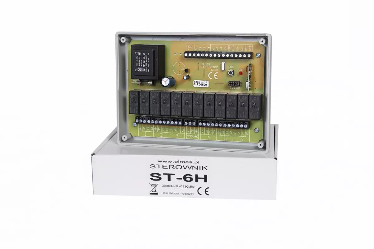 ST6H Sterownik do sześciu rolet