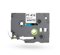 PT-TAPE18-BW Tape for Brother printer