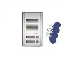 DR-201AG/RFID Stacja bramowa dwuabonentowa z czytnikiem RFID