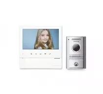 CDV-70H(DC) WHITE/DRC-40KA Wideodomofon głośnomówiący 7