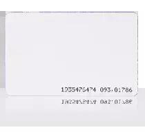 MFC-2 Karta zbliżeniowa cienka PVC 13.56 MHz MIFARE Classic 1K.
