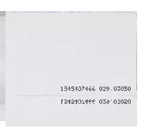 Karta zbliżeniowa cienka PVC 13.56 MHz MIFARE Classic 4K.