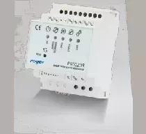 Kontroler dostępu w obudowie na szynę DIN
