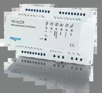 PR402DR Wewnętrzny kontroler dostępu w obudowie na szynę DIN, z zasilaczem buforowym