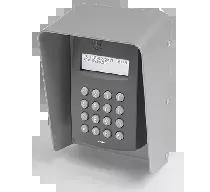 Zewnętrzny kontroler dostępu z czytnikami EM 125 kHz oraz 13.56 MHz MIFARE i klawiaturą, w obudowie ochronnej