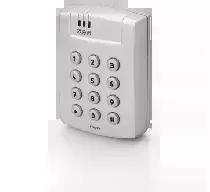 Zewnętrzny kontroler dostępu zintegrowany z czytnikiem EM 125 kHz i klawiaturą, w obudowie aluminiowej