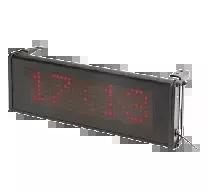 Zewnętrzny zegar ścienny LCD do systemu RACS