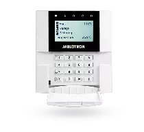 JA-110E Klawiatura LCD z czytnikiem zbliżeniowym RFID BUS do central JA-100