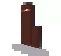 JA-150MB Bezprzewodowy czujnik otwarcia - brązowy