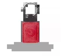 JA-194J-RE Skórzany breloczek RFID - czerwony