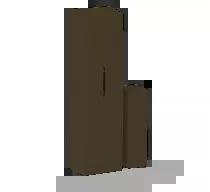 JA-81MB wireless magnetic door detector and universal transmitter