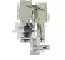 ML-1 Zamek mechaniczny przystosowany do montażu w obudowach metalowych ME-1, ME-2-D, ME-5-S.