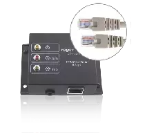 Interfejs RS232/RS485/RS422-Ethernet do systemu RACS