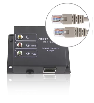 UT-4 Interfejs RS232/RS485/RS422-Ethernet do systemu RACS